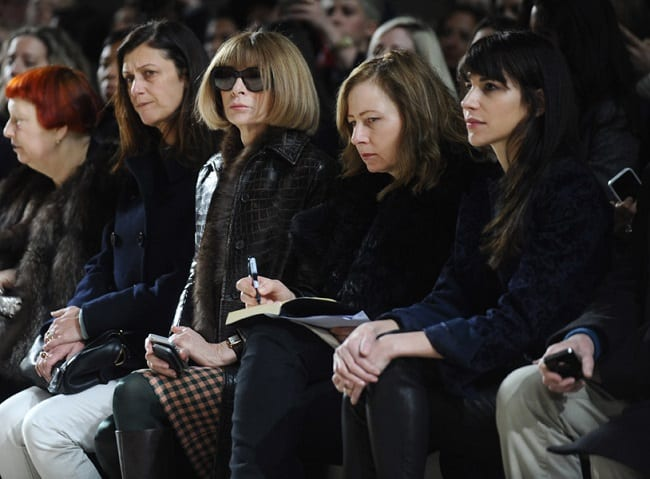 Front Row at a Fashion Show