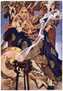 Queen Maev by J. C. Leyendecker. Source: Wikipedia