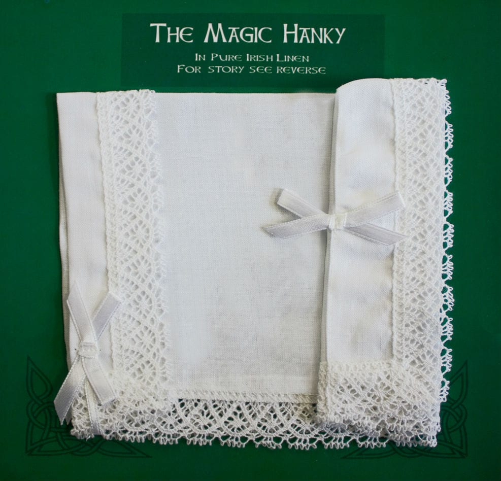 Traditional Irish Wedding Magic Hanky