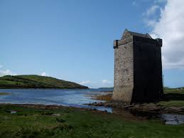 Grace O'Malley's Castle at Rockfleet. Source: Geograph