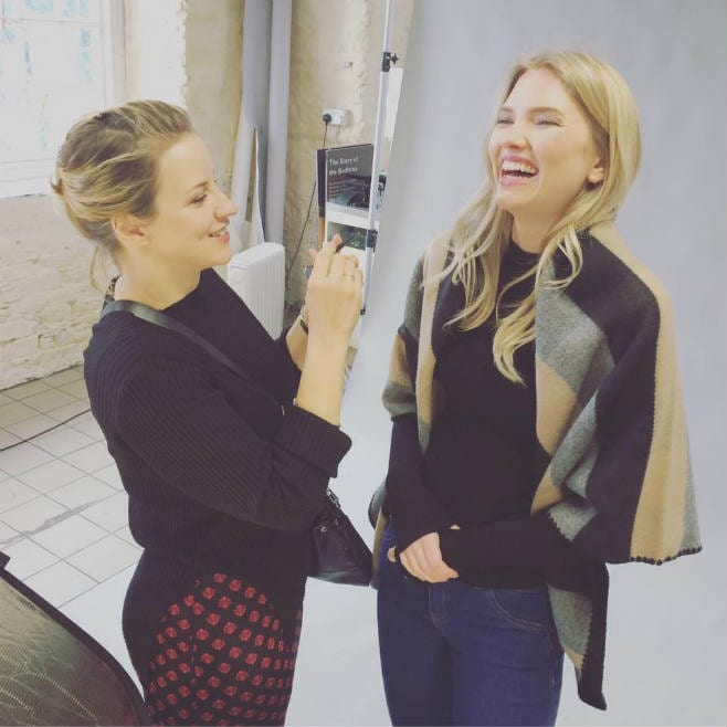 Behind the Scenes of our Photoshoot