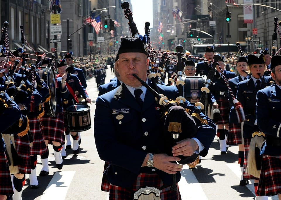 St. Patrick's Day Parade in New York. Photo from Pixabay
