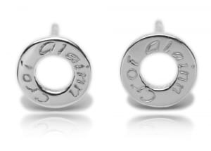 Croi Alainn Sterling Silver Stud Earrings