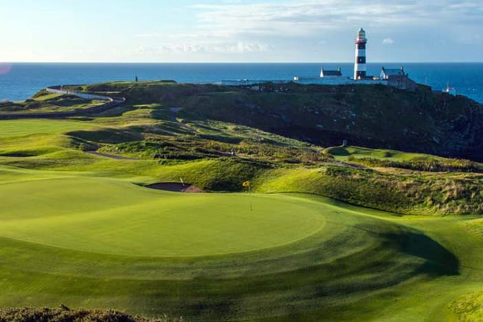 Treat him to a Round of Golf at the Old Head of Kinsale