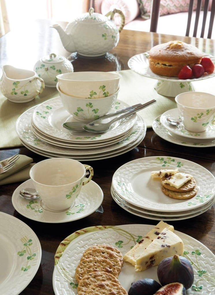 Add a touch of Irish elegance to your Afternoon Tea with Belleek Fine Parian China
