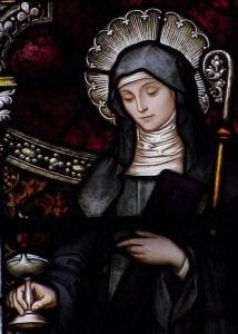 St. Brigid of Kildare. Image Source: Wikipedia.