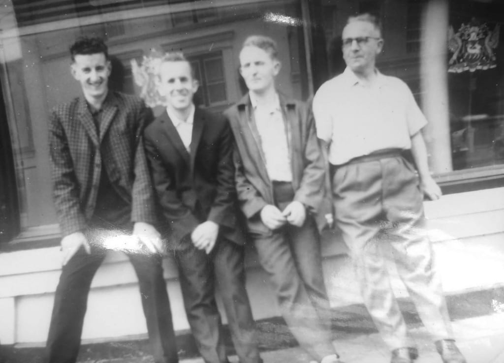 Suzanne's Father and her Uncles all worked at Blarney Woollen Mills during the 1940s and 50s.