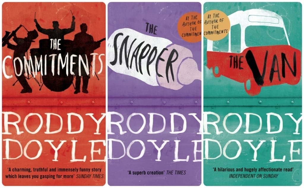 Roddy Doyle's Barrytown Trilogy. Image Sources: Amazon