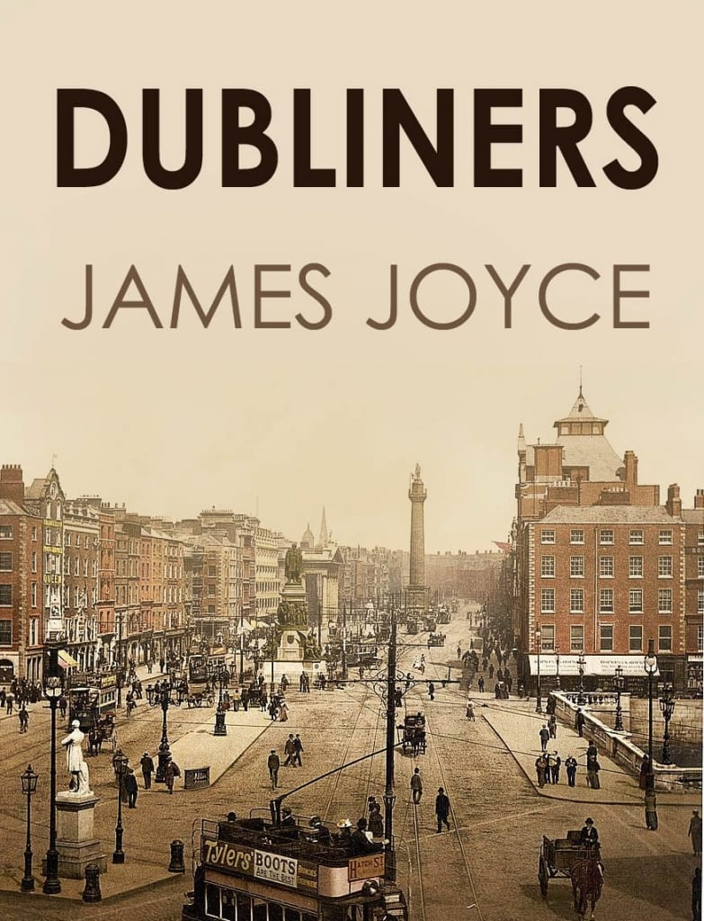 Dubliners, James Joyce. Image Source: Walking Tours Dublin