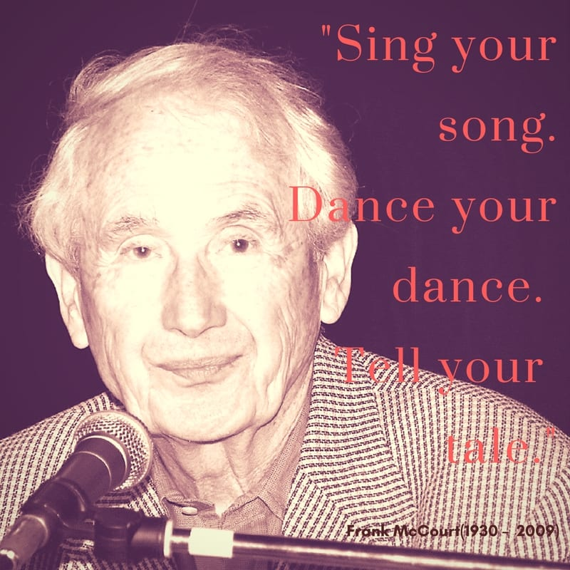 Irish quotes: Frank McCourt