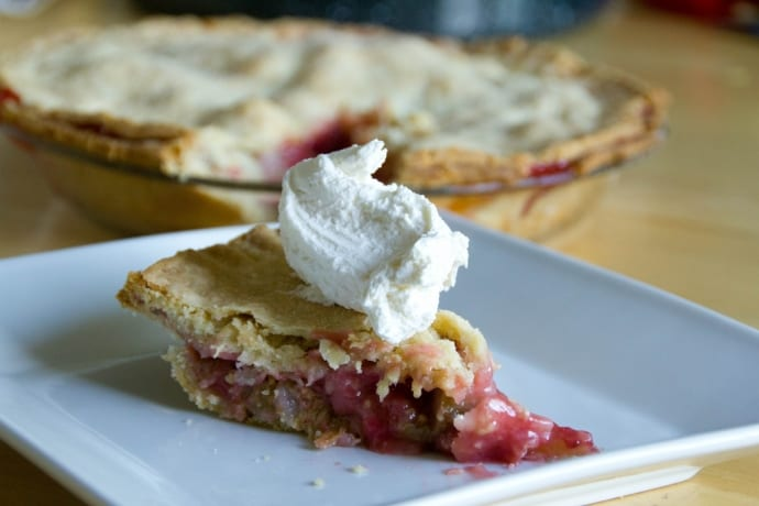 Strawberry Rhubarb Pie. Image Source: jshontz, Flickr