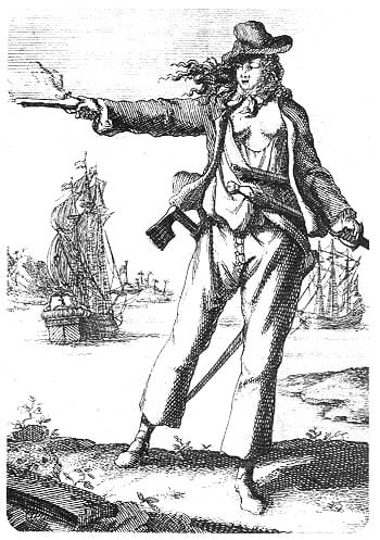 Anne Bonney, The Cork Born Pirate Queen of the Caribean