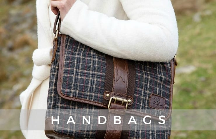 Shop the Tartan Book Bag online at Blarney.com