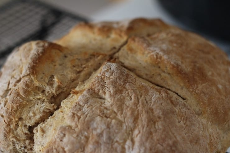 Irish Soda Bread. Image Source: Homemaker, PIxabay