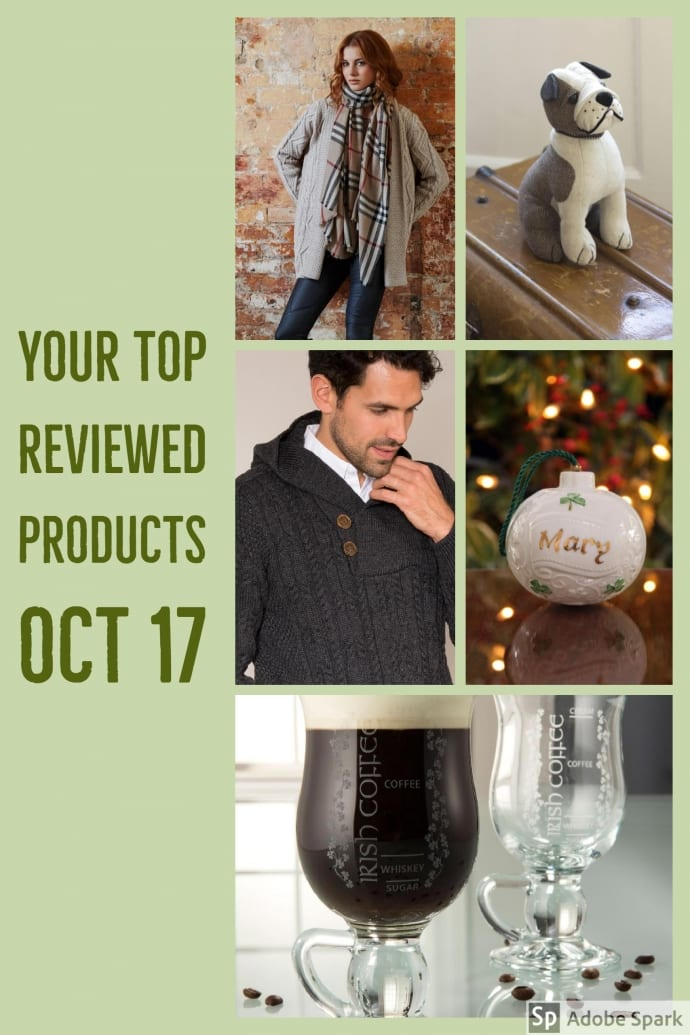 Blarney's Top Reviewed Products in October 2017