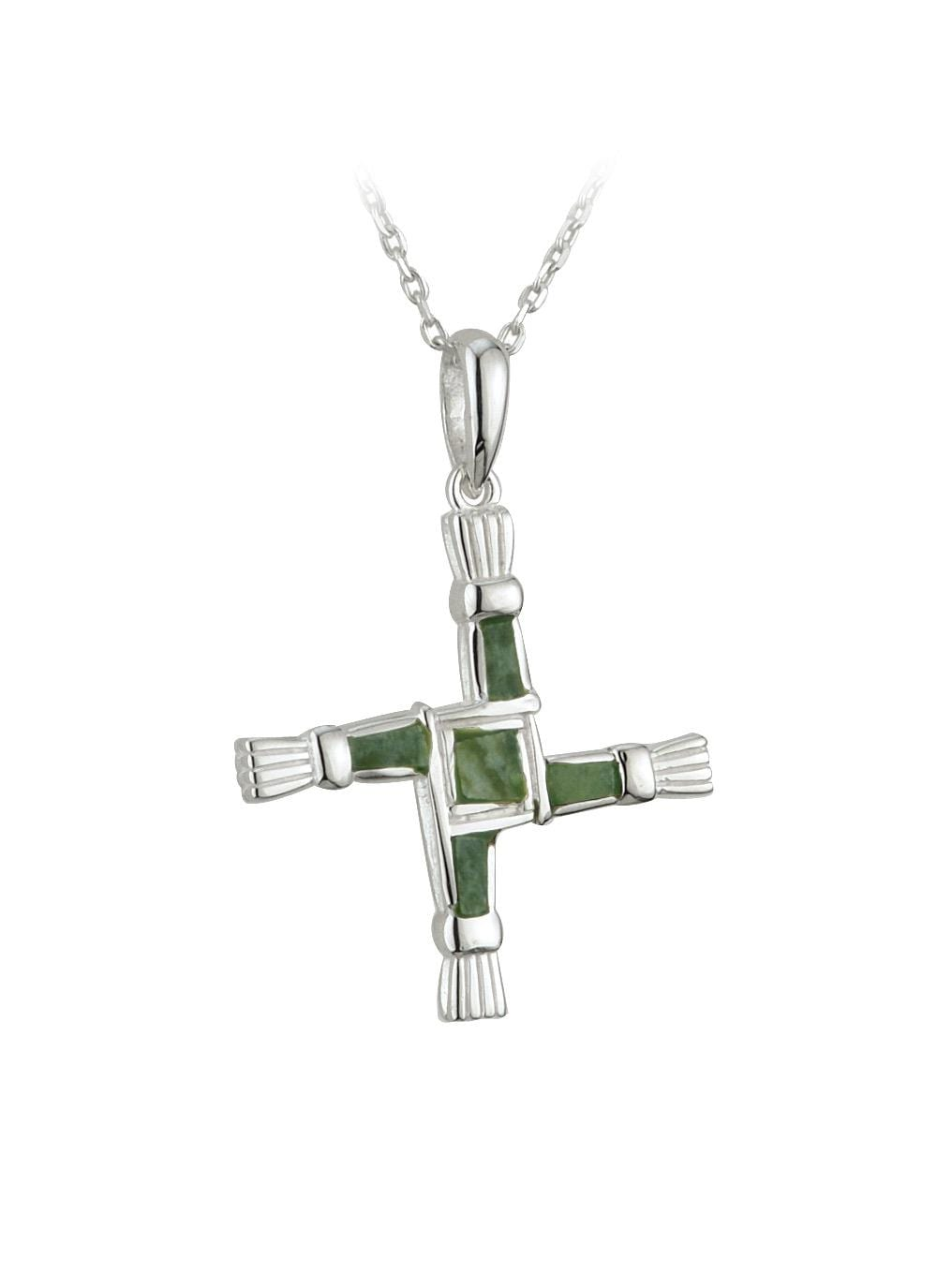 The Cross of St. Brigid is said to protect the heart & home of those who wear it