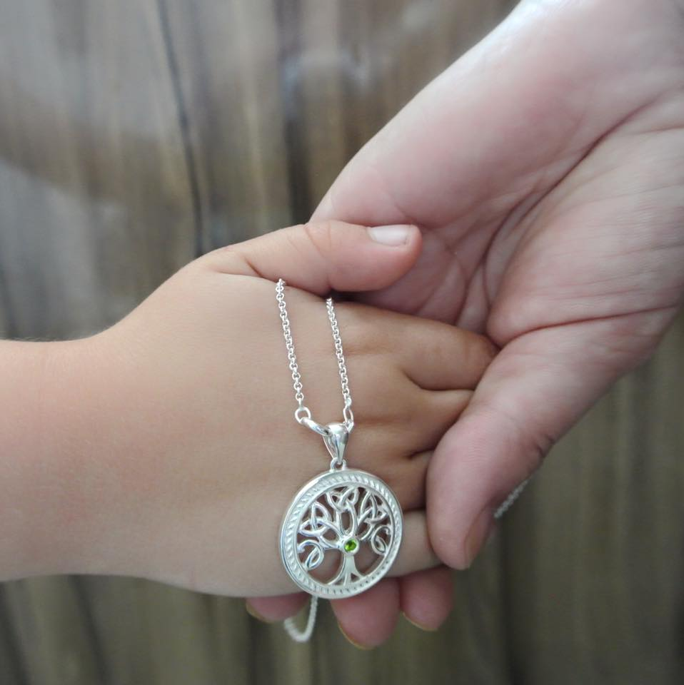 Sterling Silver Tree of Life Pendant, US$109