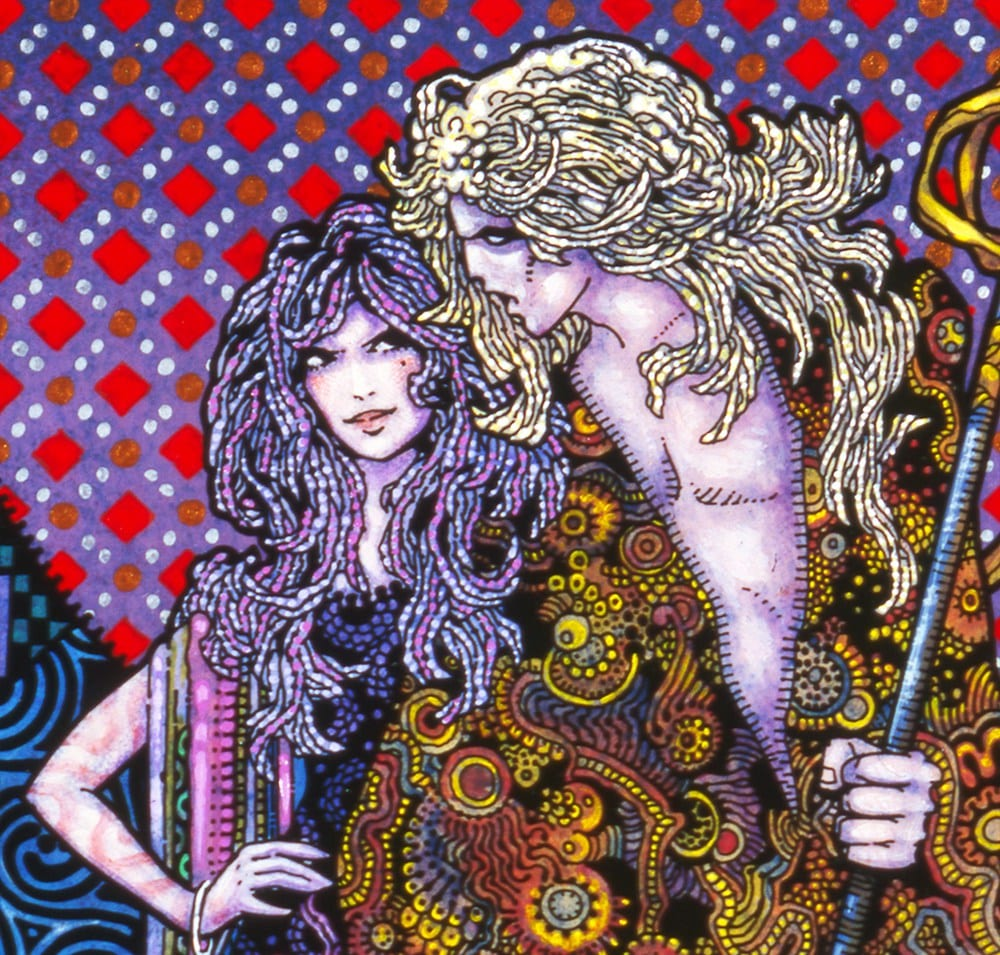 Diarmuid & Graáinne as Illustrated by celebrated Irish artist, Jim Fitzpatrick