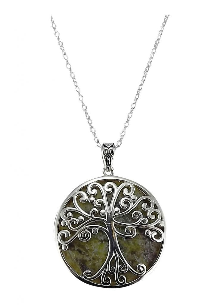 14K Gold Tree Of Life Pendant