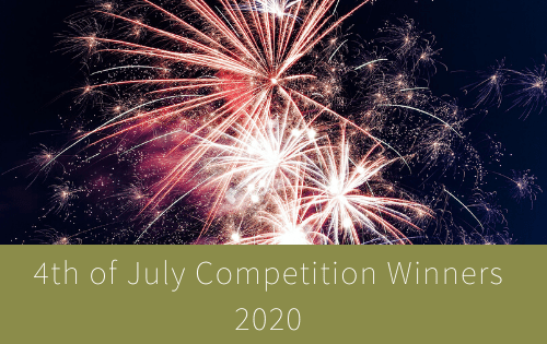 4th of July Competition Winners